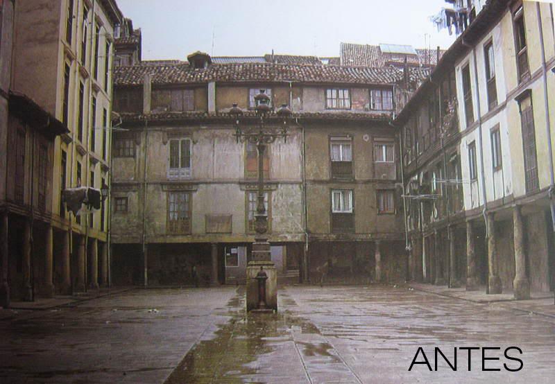 Plaza del Fontán - Antes